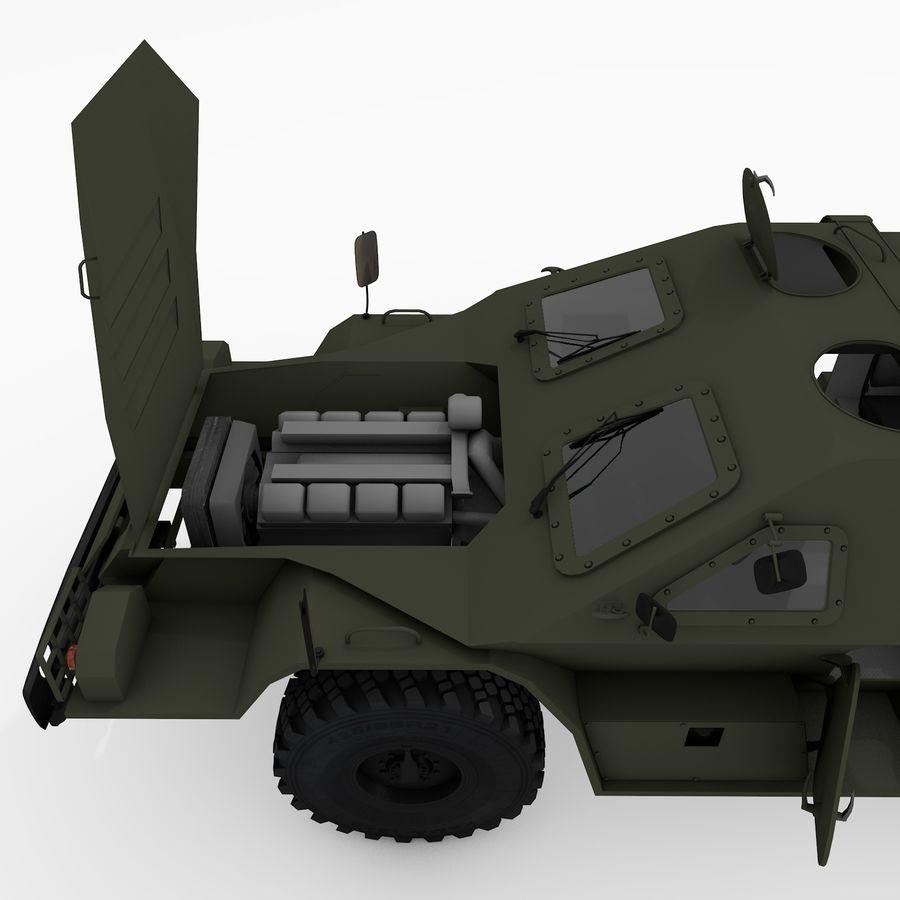 KAMAZ-43269 Dozor 2009 royalty-free 3d model - Preview no. 33