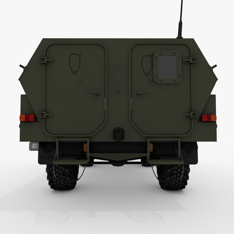 KAMAZ-43269 Dozor 2009 royalty-free 3d model - Preview no. 21
