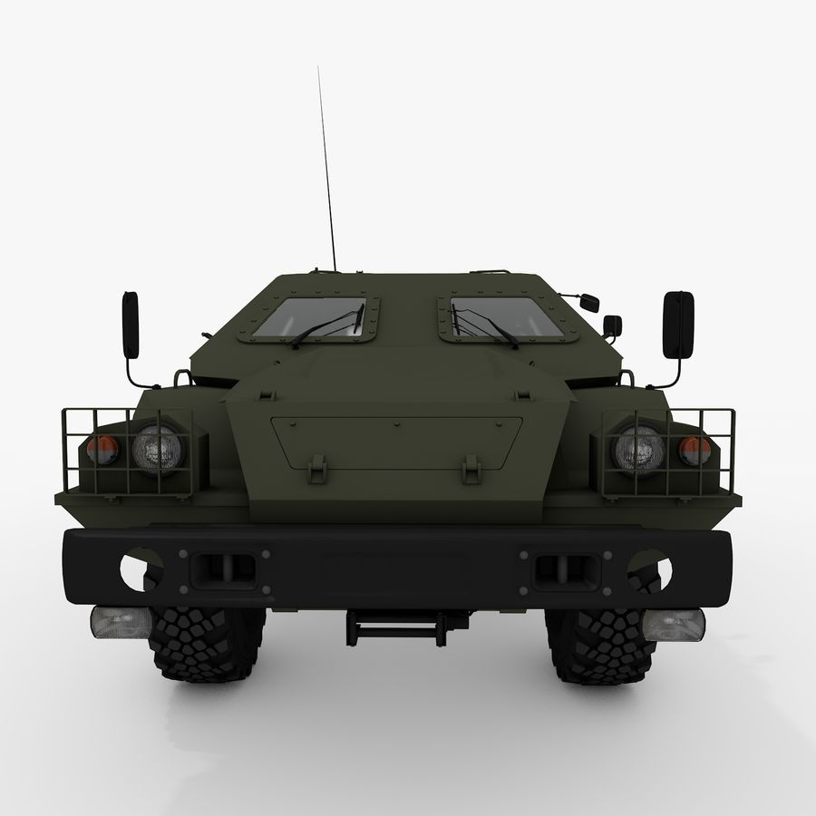 КАМАЗ-43269 Дозор 2009 royalty-free 3d model - Preview no. 20