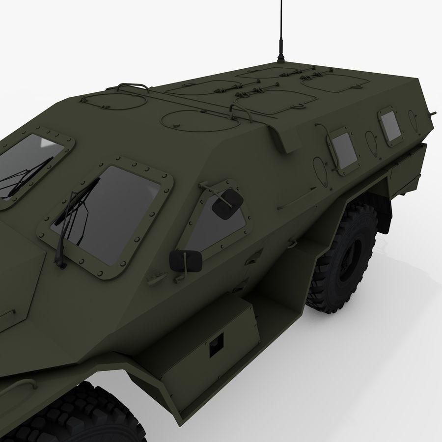 KAMAZ-43269 Dozor 2009 royalty-free 3d model - Preview no. 13