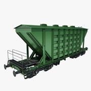 Freight Wagon 01 3d model