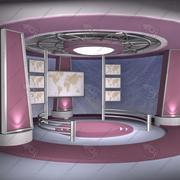 Virtual Set 06 3d model