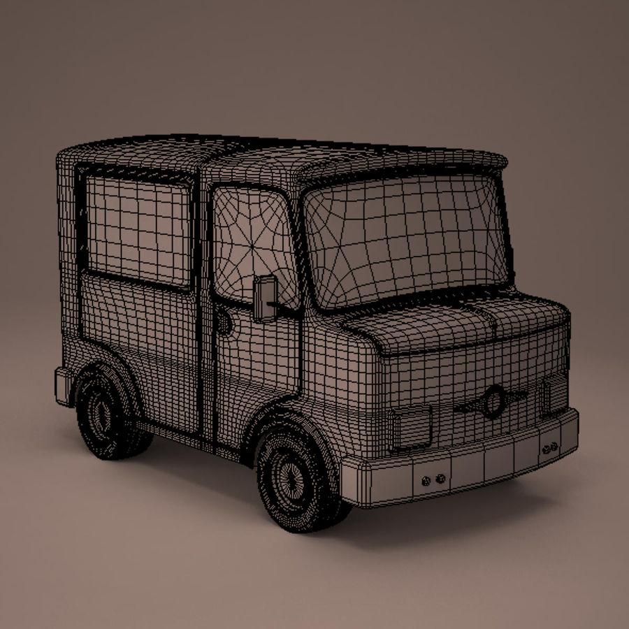 卡车 royalty-free 3d model - Preview no. 11