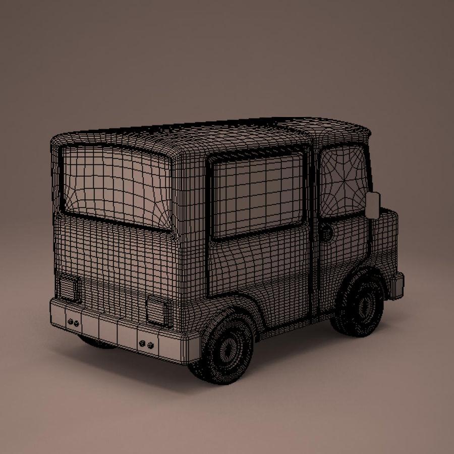 卡车 royalty-free 3d model - Preview no. 12