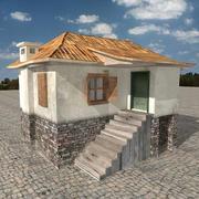 Domek na wsi 3d model
