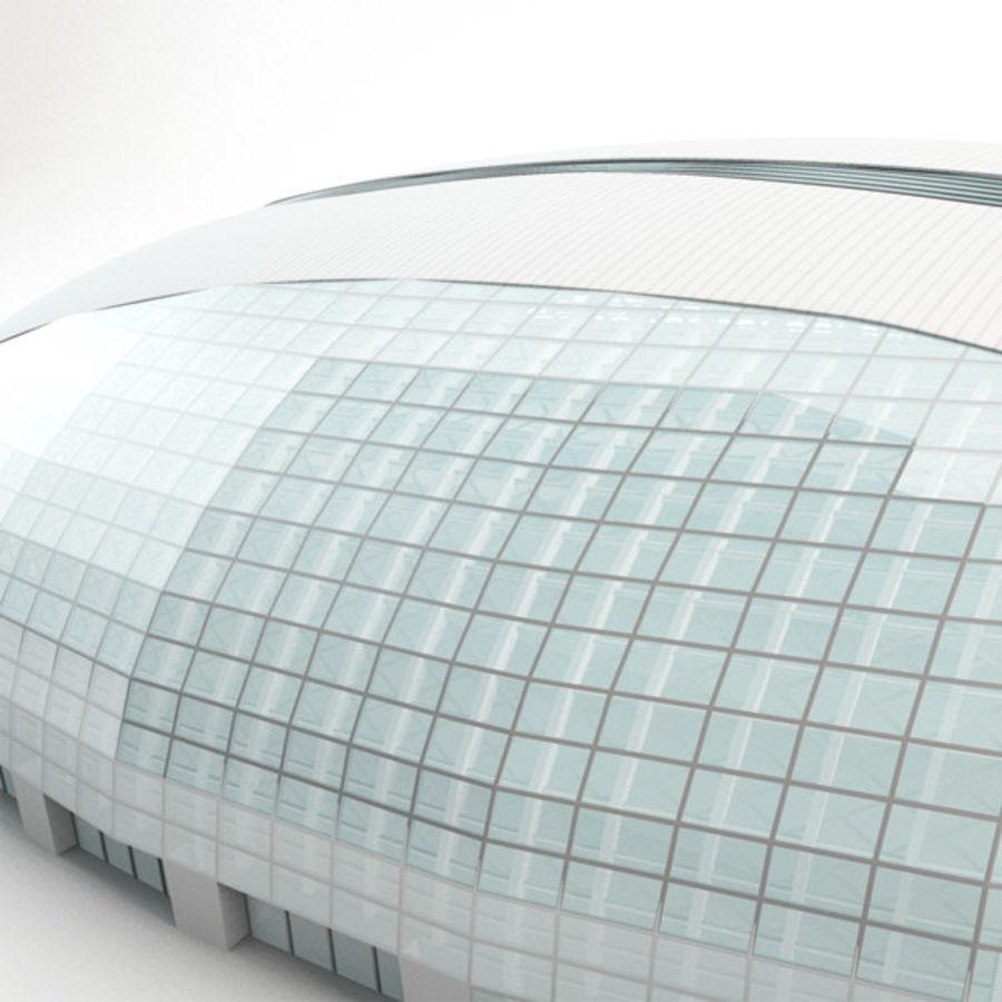 2014年ソチオリンピックアイスドーム royalty-free 3d model - Preview no. 4