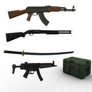 Silah Koleksiyonu 3d model