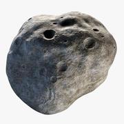 Zeer gedetailleerde asteroïde (1) 3d model