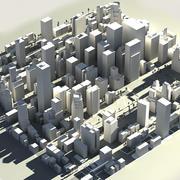 Cinza CITY em tempo real 3d model