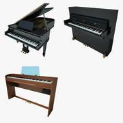 ピアノ集 3d model