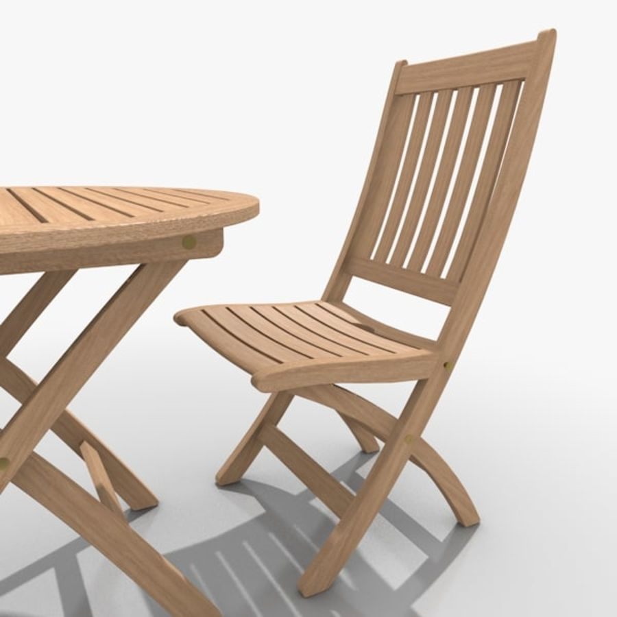 Foldable Furniture Scene royalty-free 3d model - Preview no. 4