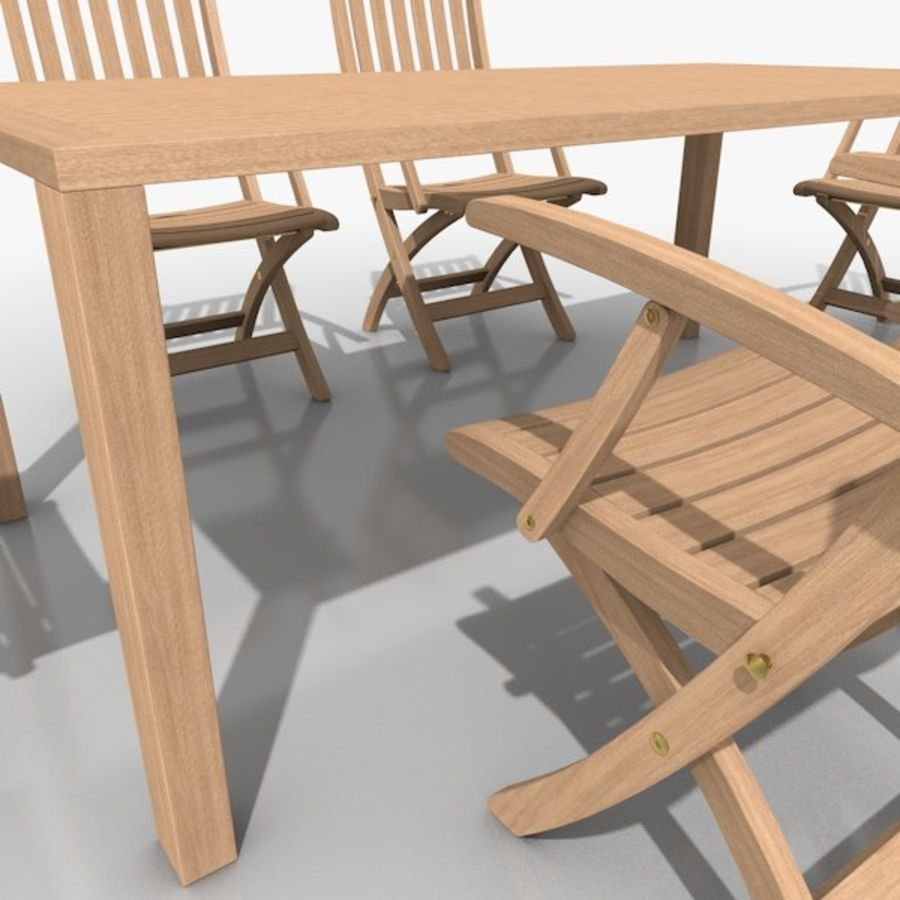 Foldable Furniture Scene royalty-free 3d model - Preview no. 11