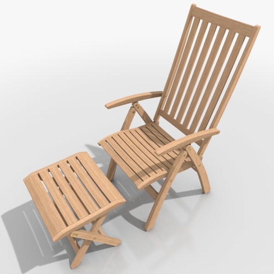 Foldable Furniture Scene royalty-free 3d model - Preview no. 18