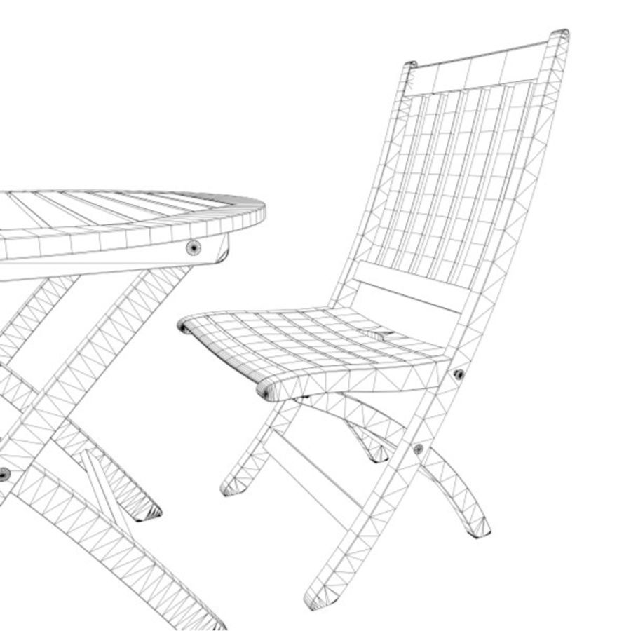 Foldable Furniture Scene royalty-free 3d model - Preview no. 8