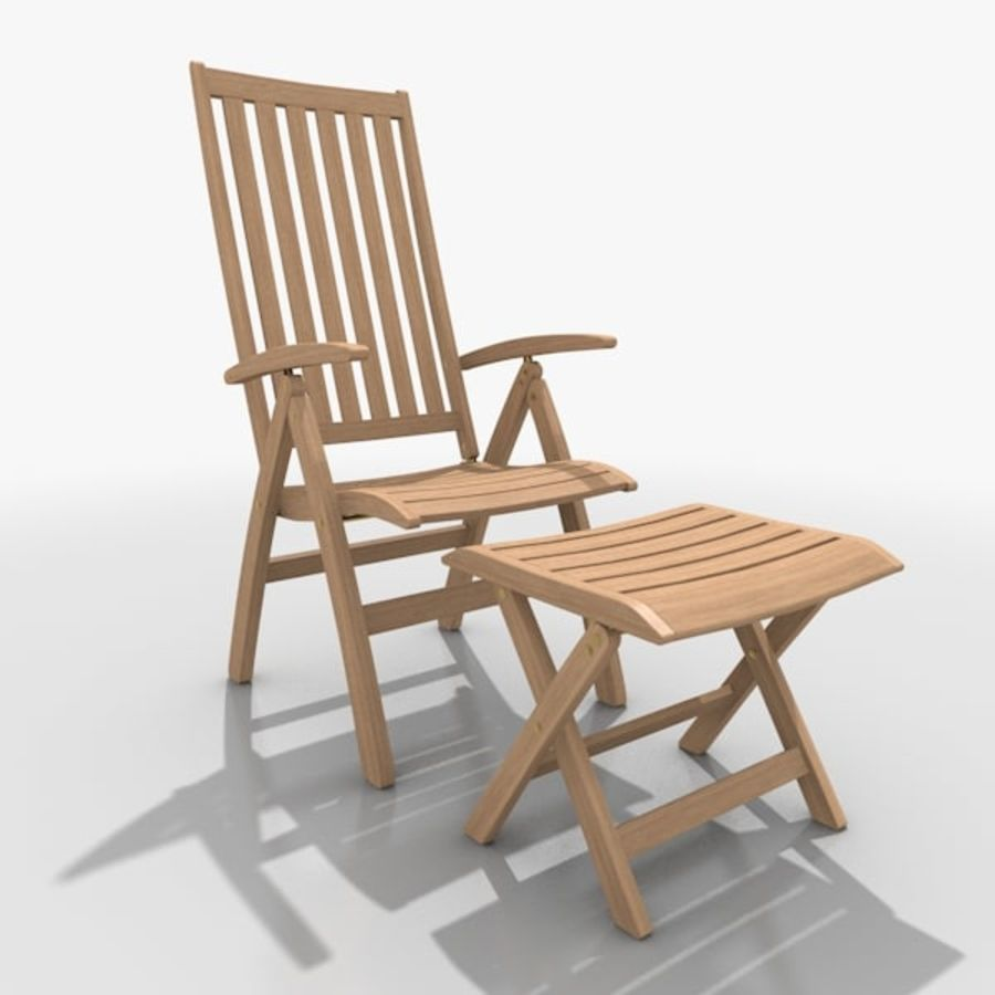 Foldable Furniture Scene royalty-free 3d model - Preview no. 15