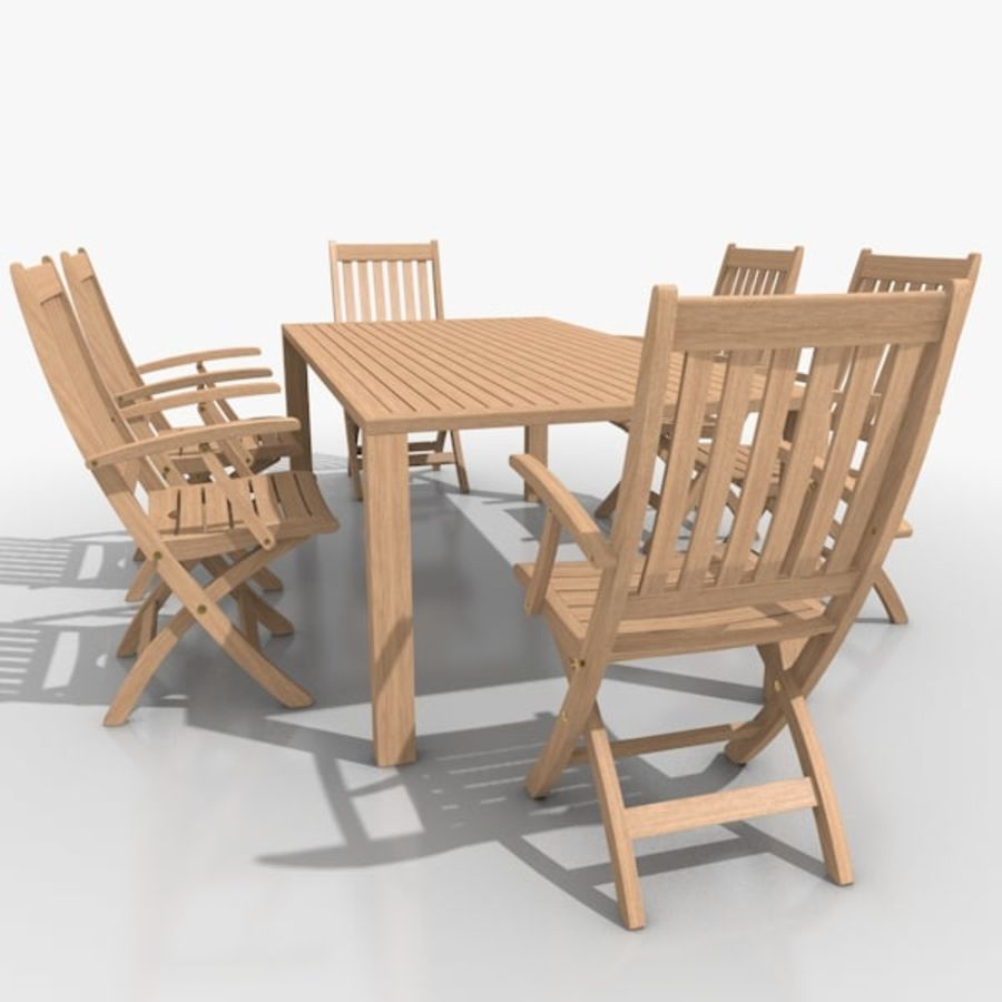 Foldable Furniture Scene royalty-free 3d model - Preview no. 12