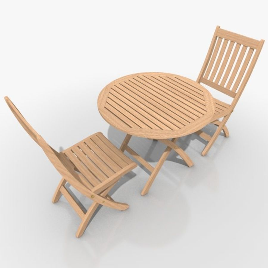Foldable Furniture Scene royalty-free 3d model - Preview no. 6