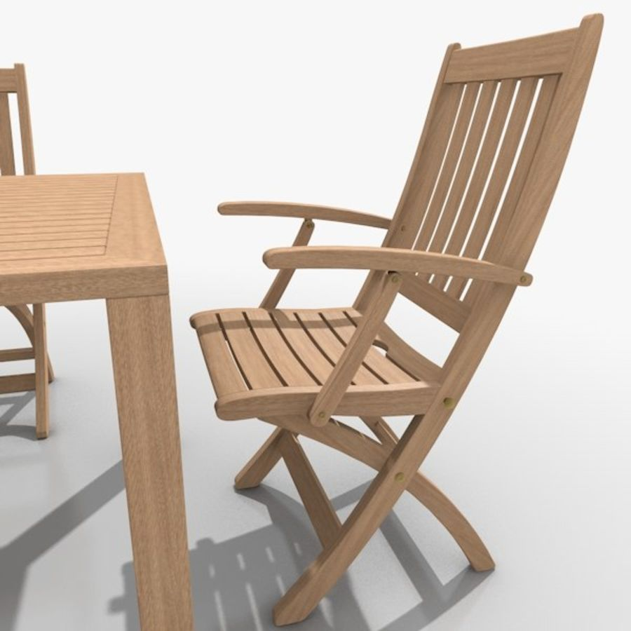 Foldable Furniture Scene royalty-free 3d model - Preview no. 10
