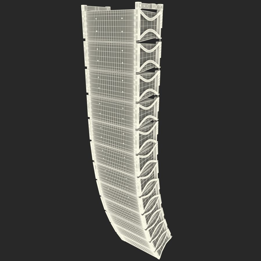 Line Array Speaker System royalty-free 3d model - Preview no. 13