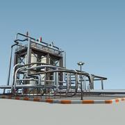 Jednostka Rafineryjna RUD 3d model