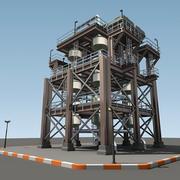 Unidad de refinería RUE modelo 3d