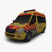 Sprinter Ambulance 3d model