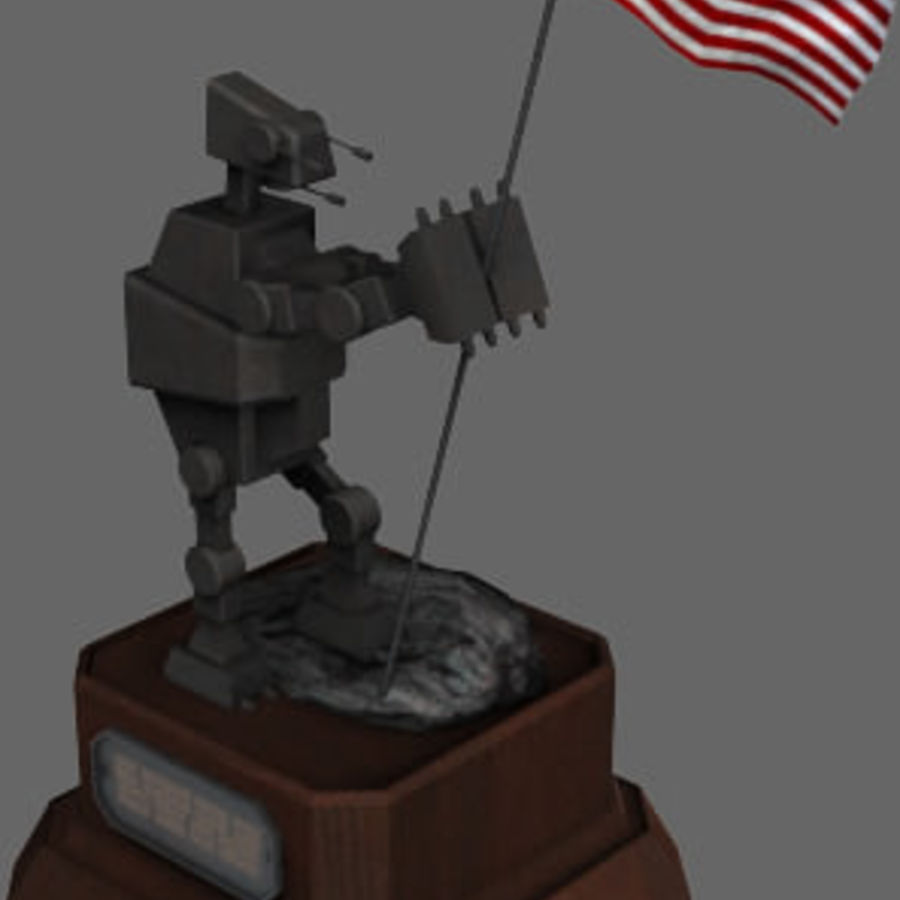 Unsung Hero royalty-free 3d model - Preview no. 1