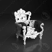 sedia nuova (1) 3d model