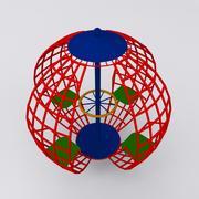 Играть в Ground Sphere Max 2011 3d model