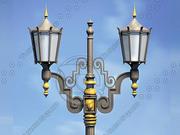 维多利亚时代的灯 3d model