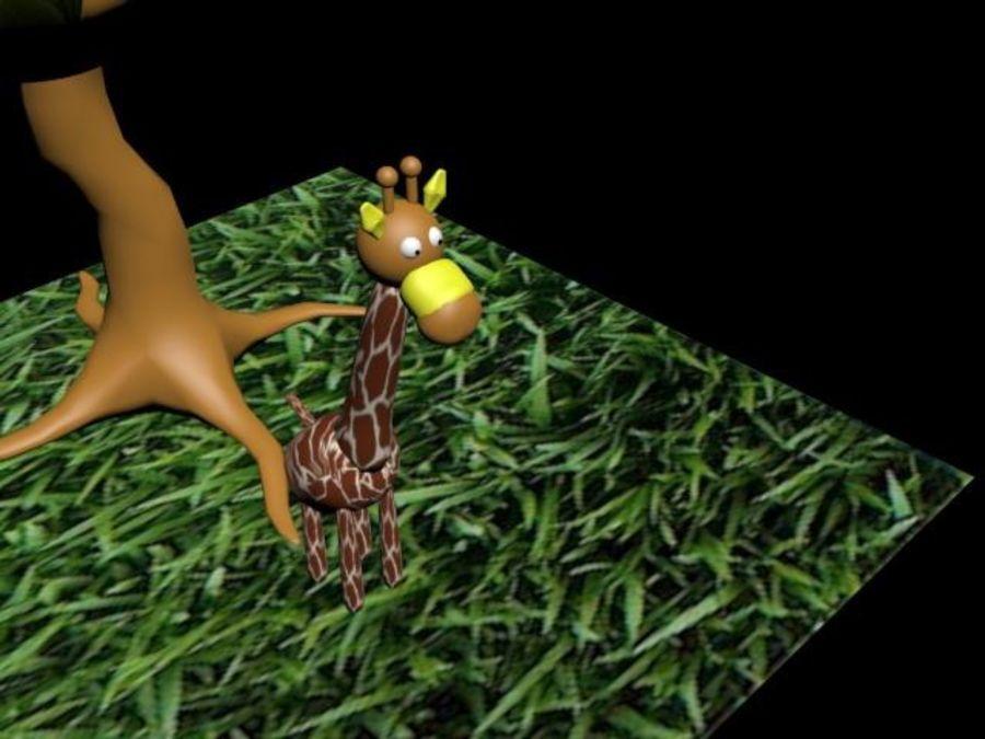 Giraffe royalty-free 3d model - Preview no. 1