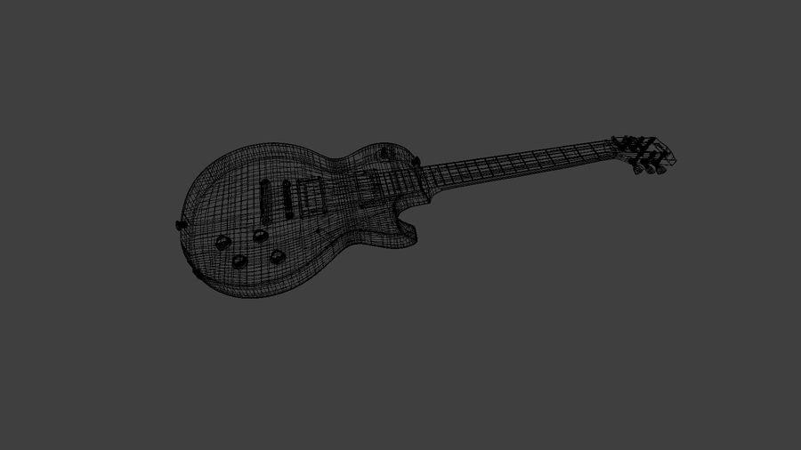기타 모델 royalty-free 3d model - Preview no. 5