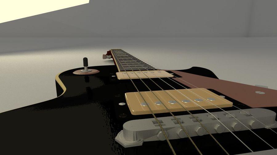 기타 모델 royalty-free 3d model - Preview no. 2