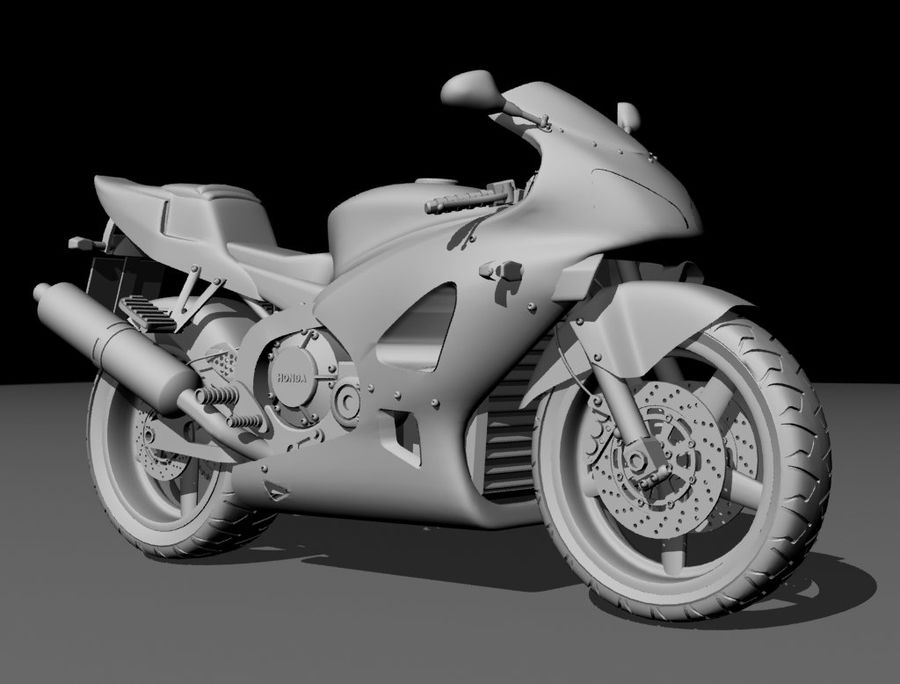 Motor- royalty-free 3d model - Preview no. 8
