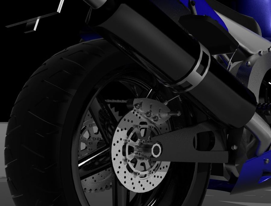 Motor- royalty-free 3d model - Preview no. 2
