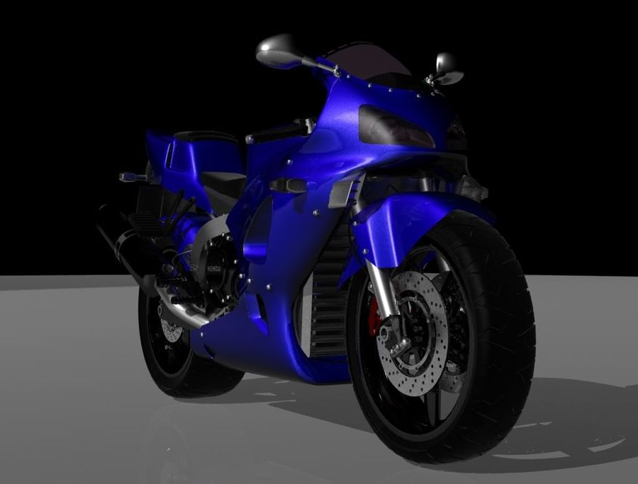 Motor- royalty-free 3d model - Preview no. 1