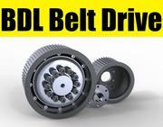 BDL correia de transmissão 3d model