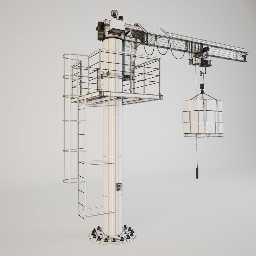 Crane royalty-free 3d model - Preview no. 13