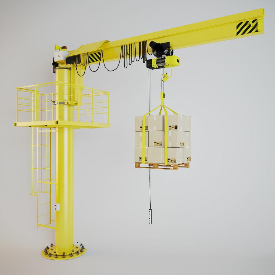 Crane royalty-free 3d model - Preview no. 7