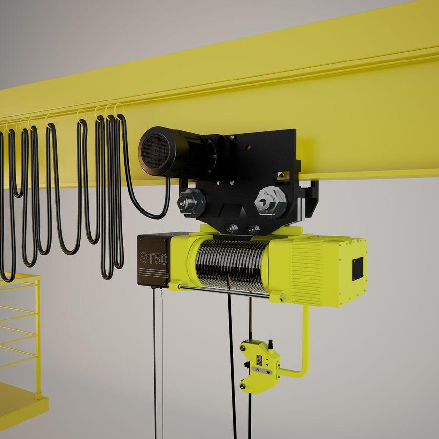 Crane royalty-free 3d model - Preview no. 3