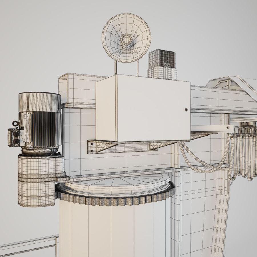 Crane royalty-free 3d model - Preview no. 12
