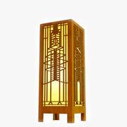 Robie House Glass Window Lightbox 3d model