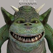 Goblin Chizbolt dla Poser 3d model