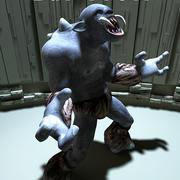Zul Troll dla Poser 3d model