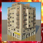 Фотореалистичная Low Poly Building 6 3d model