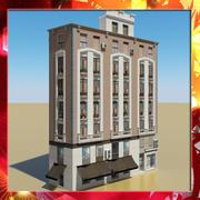Фотореалистичное низкополигональное здание 19 3d model
