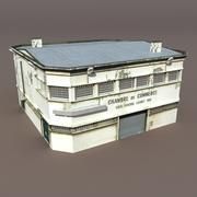 倉庫 3d model