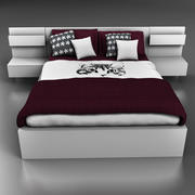 ベッド 3d model