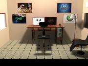 mitt kontor 3d model