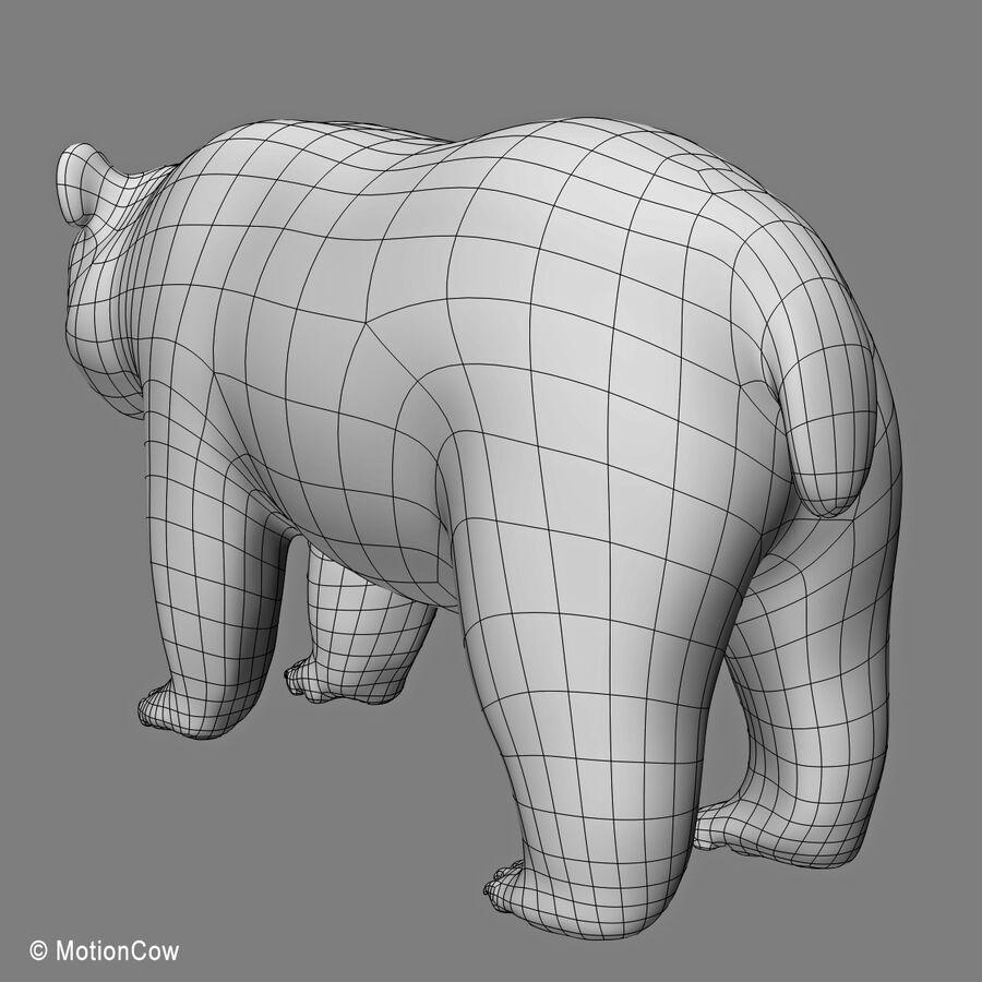 Urso panda royalty-free 3d model - Preview no. 18